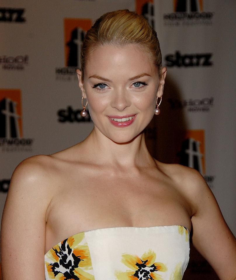 "<a href=""http://movies.yahoo.com/movie/contributor/1800157425"">Jaime King</a> at the 12th Annual Hollywood Film Festival Awards Gala in Beverly Hills - 10/27/2008"