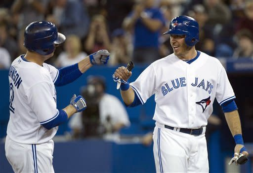 Jenkins earns first win as Blue Jays beat Twins
