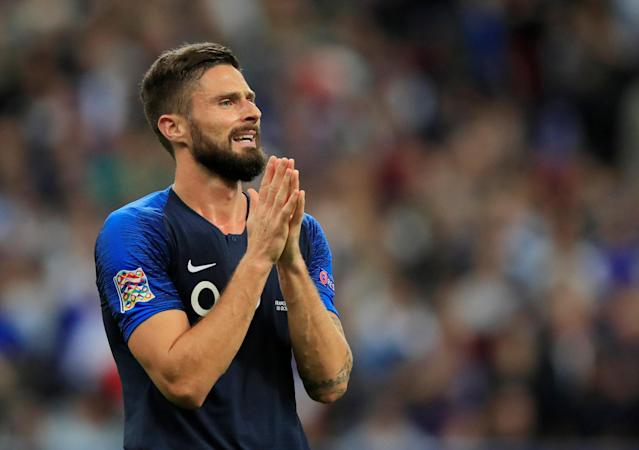 Olivier Giroud could move again in January