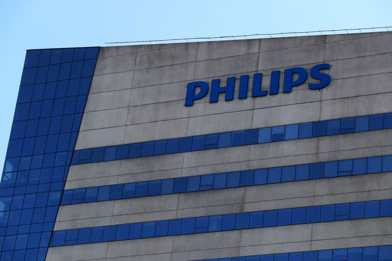 FILE PHOTO: Philips headquarters is pictured in Barueri, on the outskirts of Sao Paulo