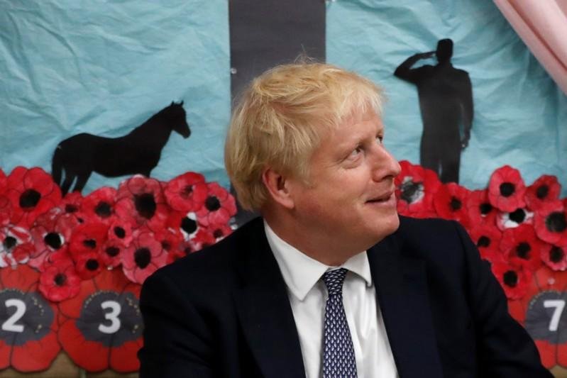 UK PM Johnson makes green investment election pledge