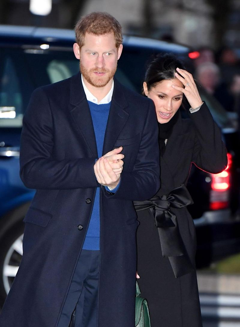 Both Meghan's half sister Samantha and Thomas have spoken out in public - and it's no doubt causing the actress headaches in the lead-up to her wedding. Photo: Getty
