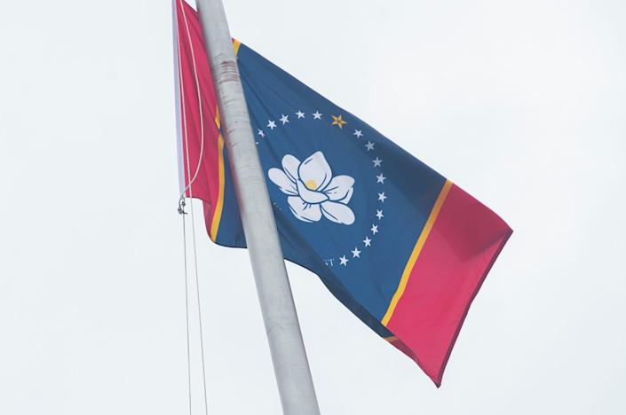 A state commission selected the Magnolia Flag to fly over Mississippi.