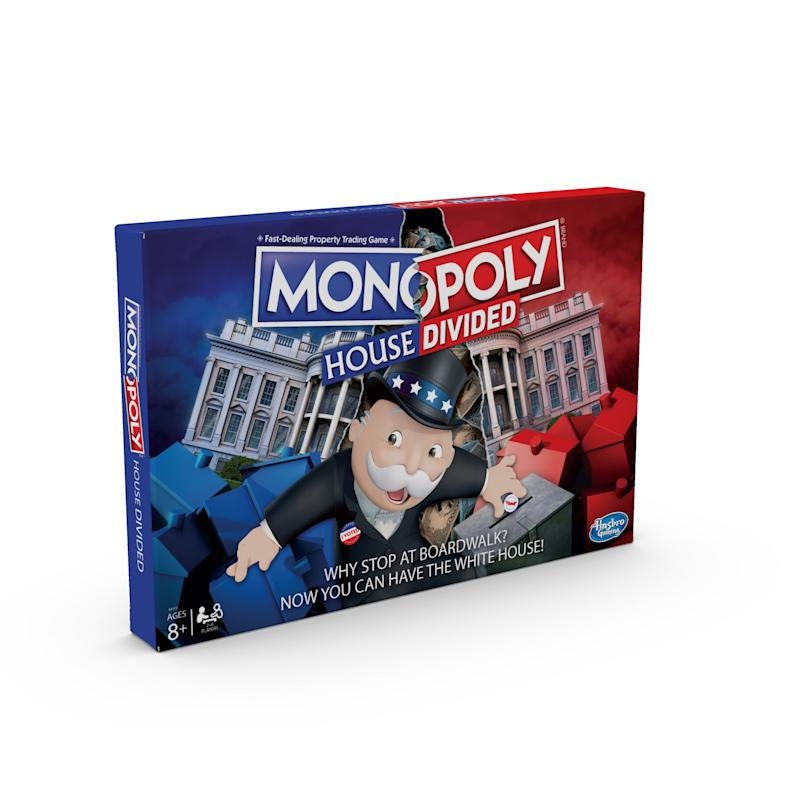 The box art for 'Monopoly: House Divided' (Photo: Hasbro)