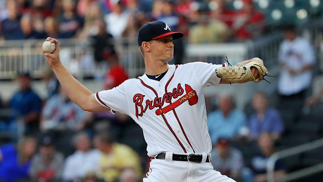 A pair of Braves youngsters guided Atlanta past the St Louis Cardinals in MLB.