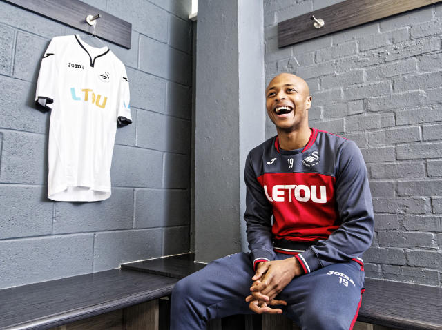 Swansea star Andre Ayew on the fight against relegation, leaving West Ham and his legendary father