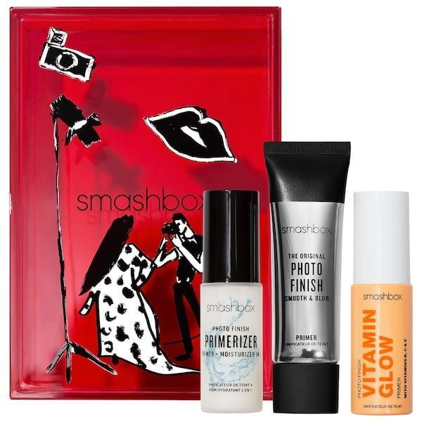 <p>You already know how important primer is to any makeup wearer so share the love along with three different options in this <span>Smashbox Photo Finish Primer Trio Set</span> ($25).</p>