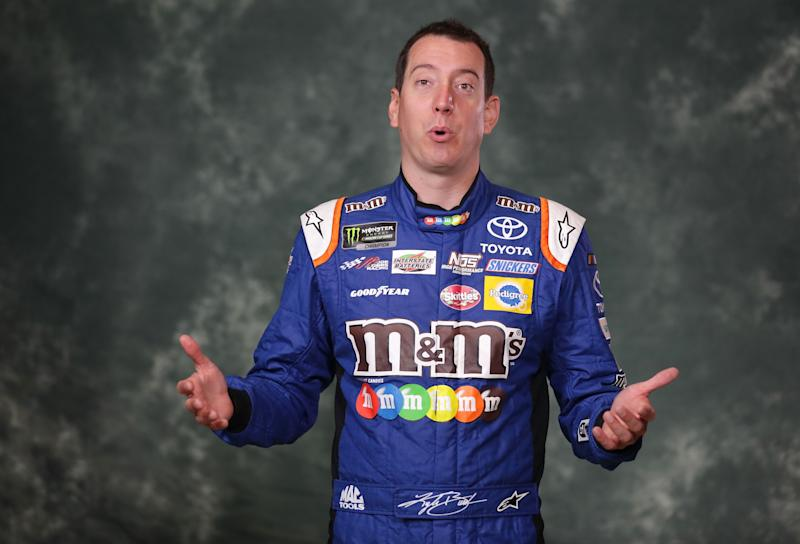Kyle Busch leads first Chicagoland Cup practice