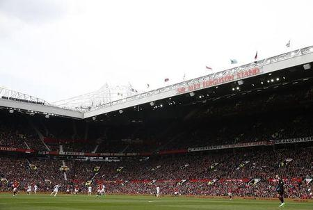 Britain Football Soccer - Manchester United v Swansea City - Premier League - Old Trafford - 30/4/17 General view during the game Action Images via Reuters / Jason Cairnduff Livepic
