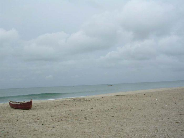 Dhanushkodi is today a ghost town and human habitation is almost non-existent as only a few fishermen with their families now live here.