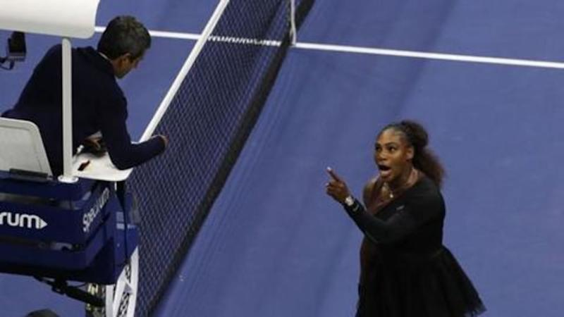 Serena went too far in US Open final: Roger Federer
