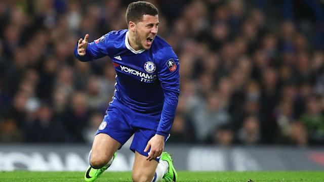 Antonio Conte has no concerns over teams targeting Eden Hazard, whom the Chelsea manager insists can handle himself in the Premier League.