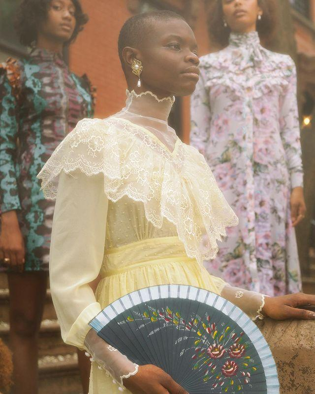 """<p>Who: Akua Shabaka and Rebecca Henry</p><p>What: 'House of Aama explores the folkways of the Black experience by designing timeless garments with nostalgic references informed by historical research, archival analysis, and storytelling. We aim to evoke dialogue, social commentary and conversations around heritage, remembrance and shed light on nuanced histories.'</p><p><a class=""""link rapid-noclick-resp"""" href=""""https://houseofaama.com/collections/shop-all"""" rel=""""nofollow noopener"""" target=""""_blank"""" data-ylk=""""slk:SHOP HOUSE OF AAMA NOW"""">SHOP HOUSE OF AAMA NOW</a></p><p><a href=""""https://www.instagram.com/p/CAlQVsnDVs7/"""" rel=""""nofollow noopener"""" target=""""_blank"""" data-ylk=""""slk:See the original post on Instagram"""" class=""""link rapid-noclick-resp"""">See the original post on Instagram</a></p>"""