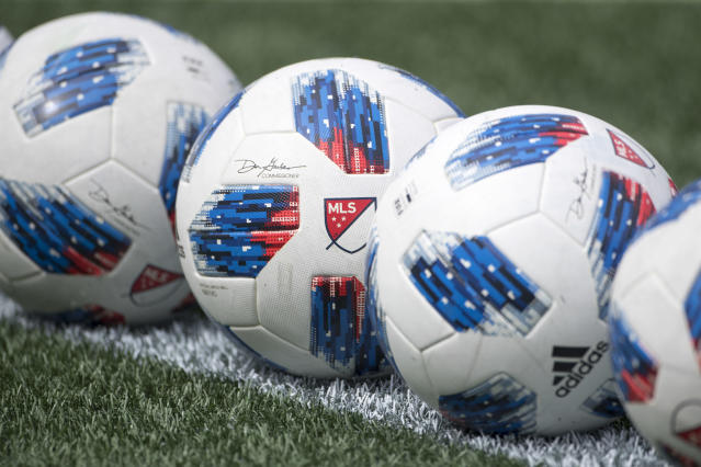 A reported MLS proposal includes twice-weekly COVID-19 testing and prohibits family contact. (Tim Clayton/Corbis via Getty Images)
