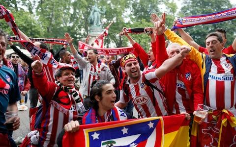 Atletico Madrid - Credit: AP