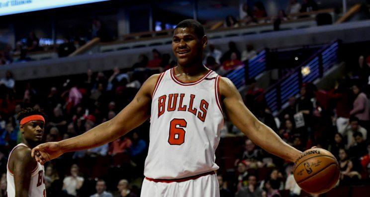 Cristiano Felicio has played two seasons with the Bulls. (AP)