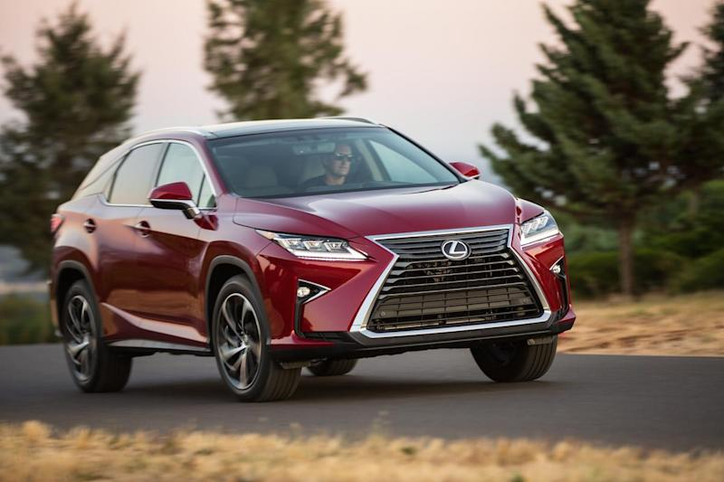2016 Lexus RX 350 and RX 450h: First Drive