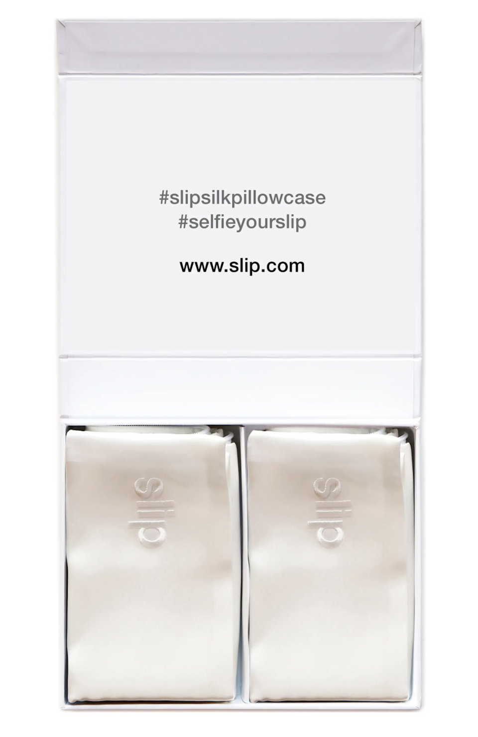 """<h2>Slip Silk Queen Pillowcase Duo</h2><br>In addition to feeling incredibly fancy, silk pillowcases can be a game-changer for smoother hair and clearer skin. Luckily, this Nordstrom-exclusive twin pack makes making the switch a one-and-done thing.<br><br><strong>Slip</strong> Silk Queen Pillowcase Duo ($178 Value), $, available at <a href=""""https://go.skimresources.com/?id=30283X879131&url=https%3A%2F%2Fwww.nordstrom.com%2Fs%2Fslip-silk-queen-pillowcase-duo-178-value-nordstrom-exclusive%2F4626949"""" rel=""""nofollow noopener"""" target=""""_blank"""" data-ylk=""""slk:Nordstrom"""" class=""""link rapid-noclick-resp"""">Nordstrom</a>"""