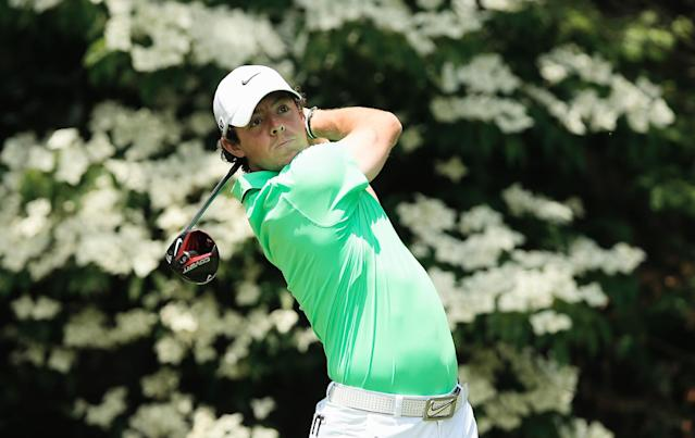 DUBLIN, OH - JUNE 02: Rory McIlroy of Northern Ireland hits his tee shot on the 13th hole during the final round of the Memorial Tournament presented by Nationwide Insurance at Muirfield Village Golf Club on June 2, 2013 in Dublin, Ohio. (Photo by Scott Halleran/Getty Images)