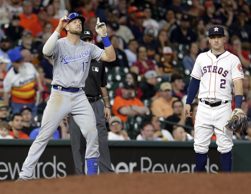 O'Hearn, Merrifield hit grand slams; Royals rout Astros 12-2