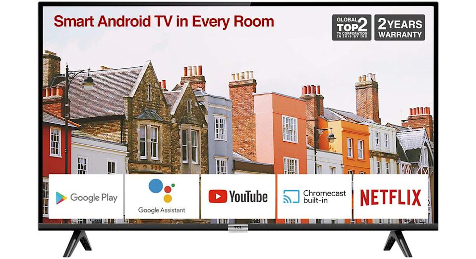 TCL 32ES568 32-Inch Smart Android TV HD