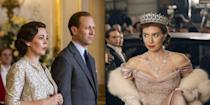 """<p>After what feels like the longest wait of all time, <a href=""""http://www.harpersbazaar.com/culture/film-tv/a14307181/the-crown-season-3-news-date-cast-spoilers/"""" rel=""""nofollow noopener"""" target=""""_blank"""" data-ylk=""""slk:Season 3 of The Crown"""" class=""""link rapid-noclick-resp"""">Season 3 of <em>The Crown</em></a> is finally on Netflix, and <a href=""""https://www.harpersbazaar.com/culture/film-tv/a27101318/the-crown-season-4-news-date-cast-spoilers/"""" rel=""""nofollow noopener"""" target=""""_blank"""" data-ylk=""""slk:Season 4 is already in production"""" class=""""link rapid-noclick-resp"""">Season 4 is already in production</a>. So to sate your thirst for all things royal family-related, we're taking a look at behind-the-scenes details and fun facts about the regal hit Netflix series. From pay disparity disputes, to John Lithgow's problematic height when playing Winston Churchill, here's everything you need to know about <em>The Crown</em>.</p>"""