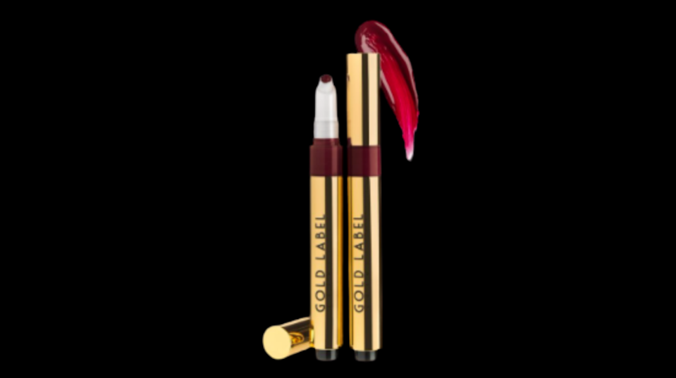 "<p>goldlabelcosmetics.com</p><p><strong>$20.00</strong></p><p><a href=""https://www.goldlabelcosmetics.com/collections/best-sellers/products/empowering"" rel=""nofollow noopener"" target=""_blank"" data-ylk=""slk:Shop Now"" class=""link rapid-noclick-resp"">Shop Now</a></p><p>The line features heavily pigmented lipsticks inspired by fashion, positive affirmations, and those who love a little opulence in their lives.</p>"