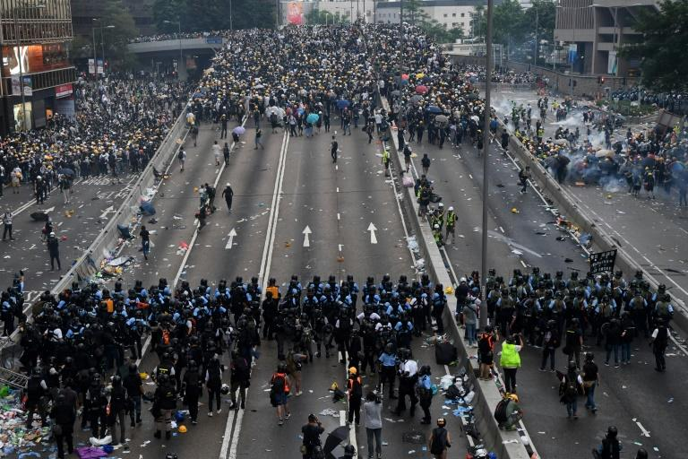 Hong Kong's political crisis has placed its police force in the firing line of public anger