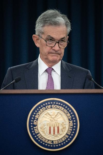 Federal Reserve Board Chairman Jerome Powell says an interest rate cut will be warranted if the US economic outlook deteriorates (AFP Photo/NICHOLAS KAMM)