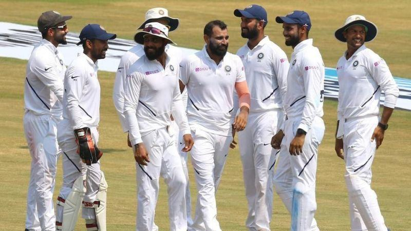 Indian Team claimed victory in the first Test