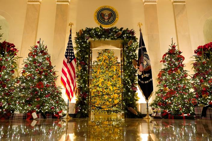 <p>The White House unveiled their Christmas decorations last week</p> (Copyright 2020 The Associated Press. All rights reserved.)