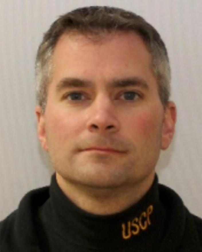 The US Capitol police officer Brian Sicknick, 40, who died defending the building.