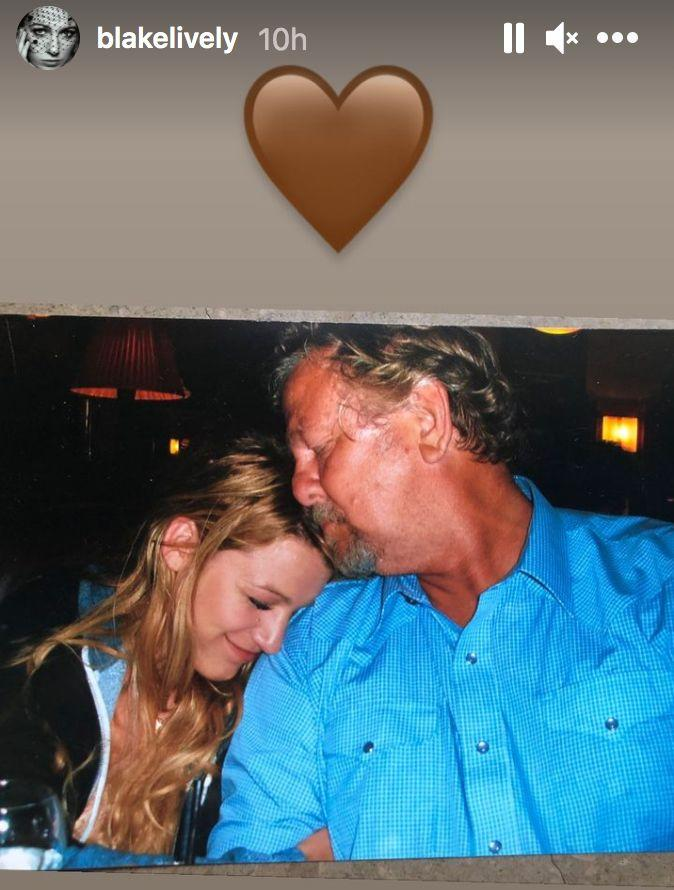 Blake Lively paid tribute to her father Ernie Lively on Instagram (Photo: Instagram)