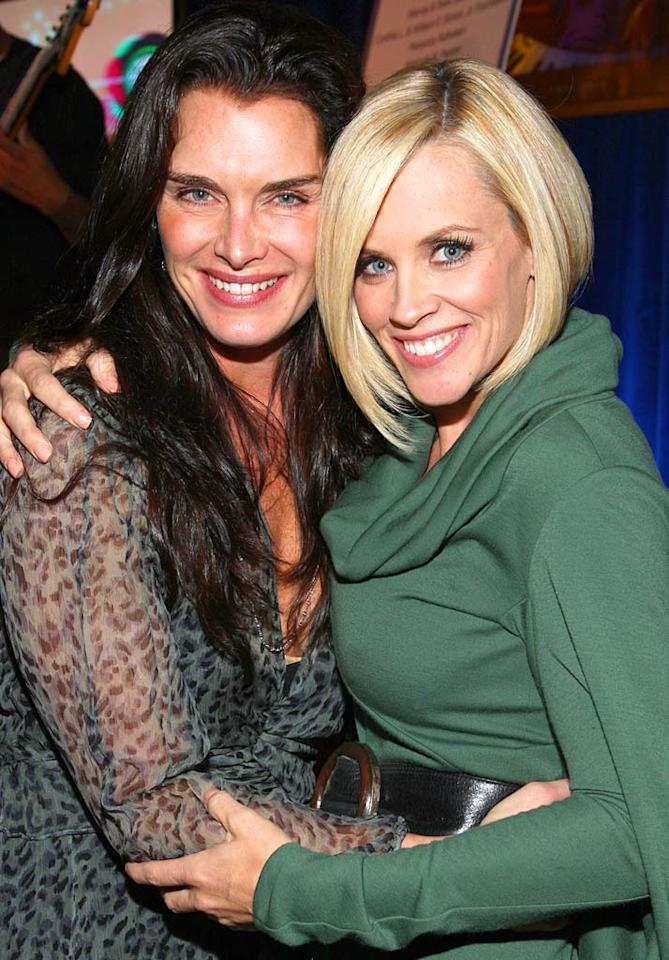 """Brooke Shields attends a benefit cocktail party hosted by Jenny McCarthy in support of UCLA's Early Childhood Development Partial Hospitalization Program. John Shearer/<a href=""""http://www.wireimage.com"""" target=""""new"""">WireImage.com</a> - October 11, 2007"""