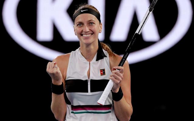 Kvitova is yet to lose a match this year - AP
