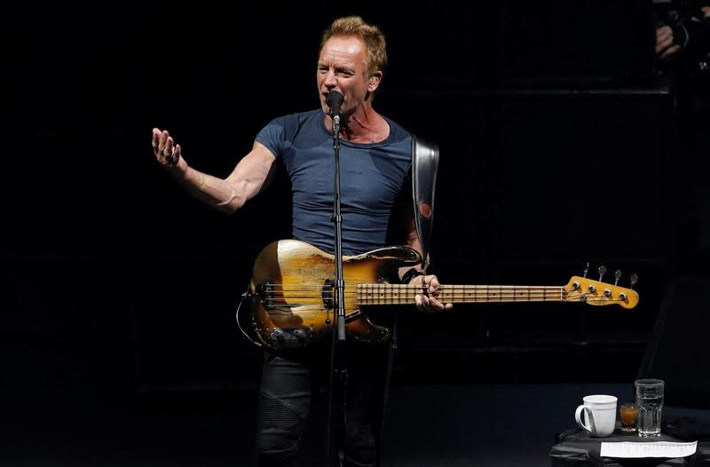 'I didn't want to do something frivolous': Sting's play to make Toronto debut