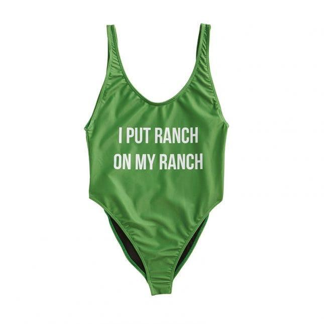 Hidden Valley Ranch One Piece Swimsuit