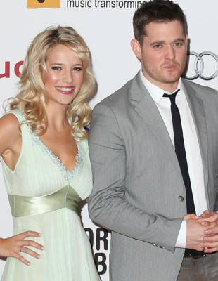 how did michael buble and his wife meet