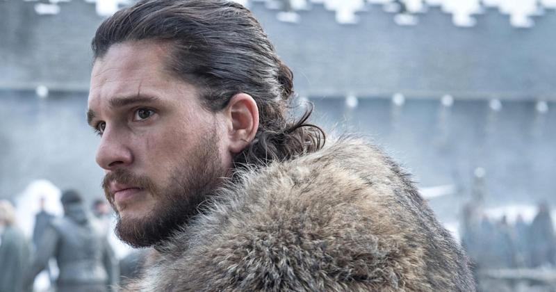 Kit Harington reveals Jon's thoughts in that major   Game of Thrones premiere scene