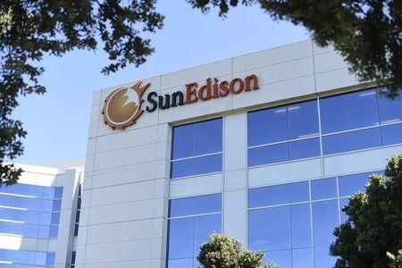 The headquarters of SunEdison is shown in Belmont, California in this April 6, 2016 file photo. REUTERS/Noah Berger/Files