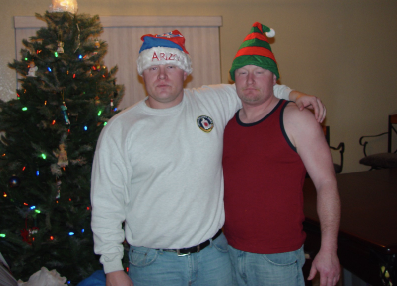 The two brothers Kyle Foster (left) and Jeremie Foster (right).