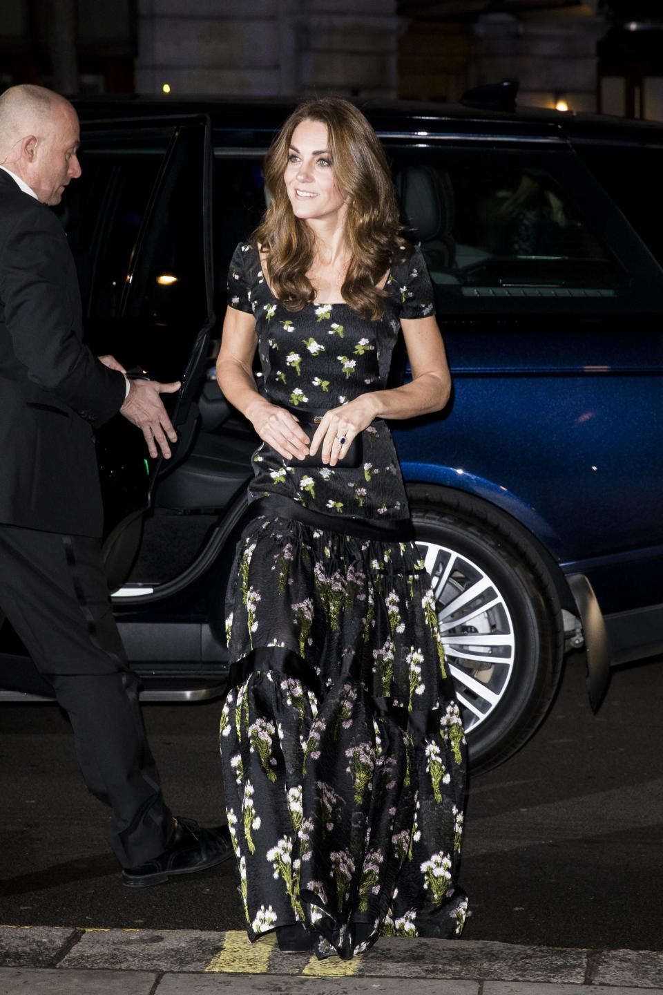 The Duchess arriving at the Portrait Gala [Photo: Getty]