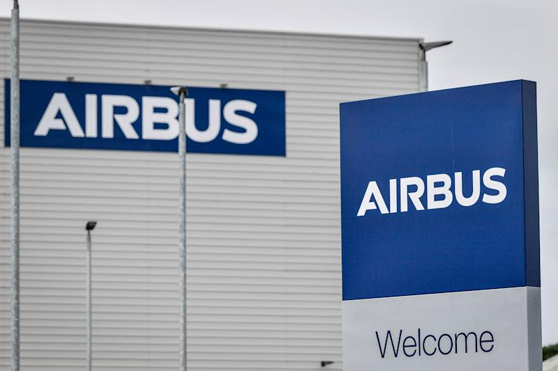 The Airbus factory at Filton in Bristol