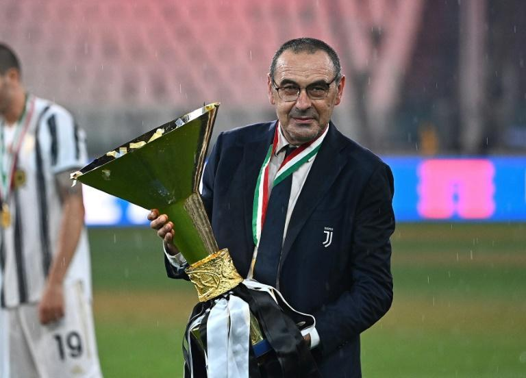 Maurizio Sarri won Serie A in 2020 before making way for Andrea Pirlo