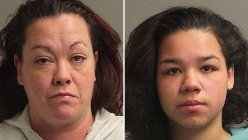 Laurie Ann Taylor, 43, and her 17-year-old daughter, Alexus Lorraine Taylor, were charged with manslaughter over the baby's heroin death.