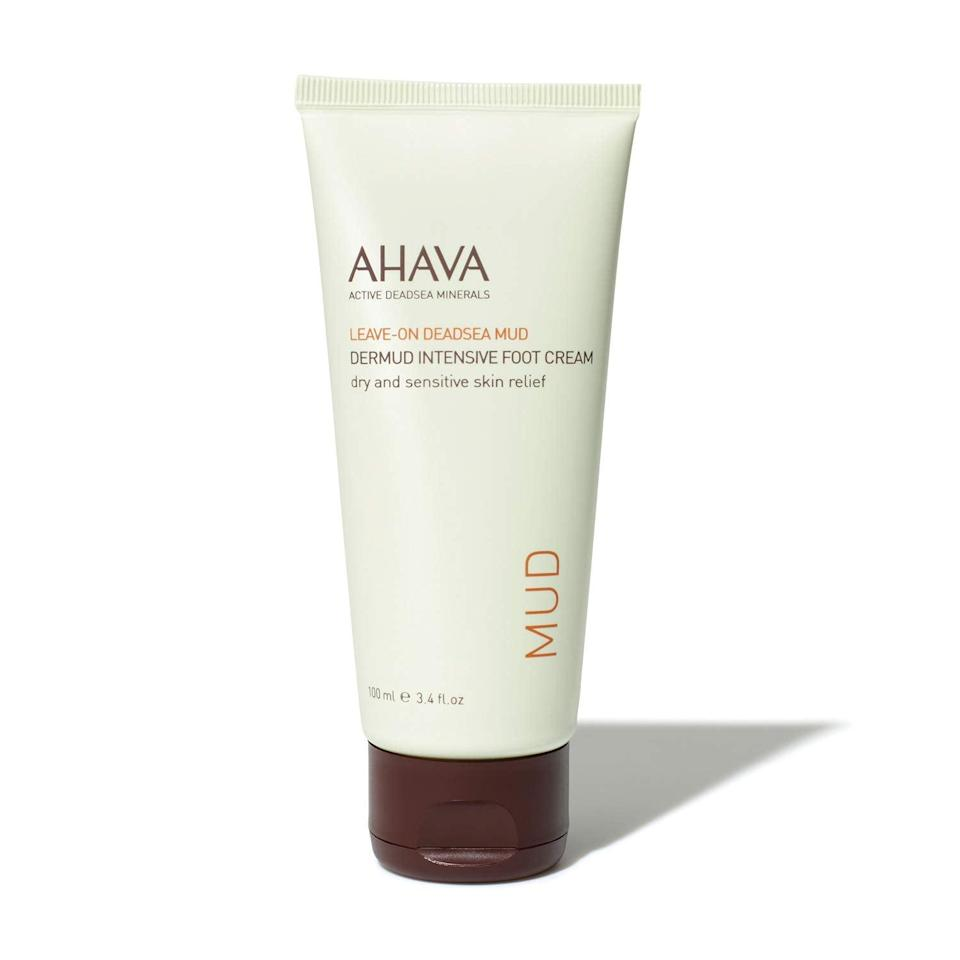 <p><span>Ahava Dermud Intensive Foot Cream</span> ($22, originally $29)</p>