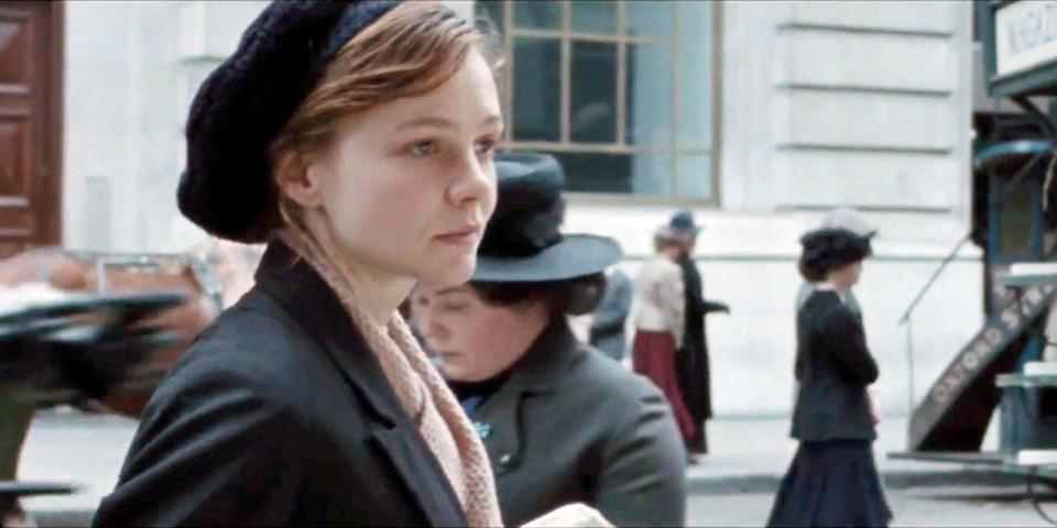 "<p>This political drama centers on the women's suffrage movement of the late 19th century. <a class=""link rapid-noclick-resp"" href=""https://www.popsugar.com/Carey-Mulligan"" rel=""nofollow noopener"" target=""_blank"" data-ylk=""slk:Carey Mulligan"">Carey Mulligan</a> plays the main character, a young political activist. While her character isn't based on anyone specifically, <a class=""link rapid-noclick-resp"" href=""https://www.popsugar.com/Meryl-Streep"" rel=""nofollow noopener"" target=""_blank"" data-ylk=""slk:Meryl Streep"">Meryl Streep</a> plays Emmeline Pankhurst, who was a real leader in the movement. She founded a suffrage advocacy group, spent time in prison for getting physical with officers, and played a huge part in getting the Representation of the People Act passed. She passed away weeks before the government extended the right to vote to women over 21 years old.</p> <p><a href=""http://www.netflix.com/title/80046819"" class=""link rapid-noclick-resp"" rel=""nofollow noopener"" target=""_blank"" data-ylk=""slk:Watch Suffragette on Netflix now."">Watch <strong>Suffragette</strong> on Netflix now.</a></p>"