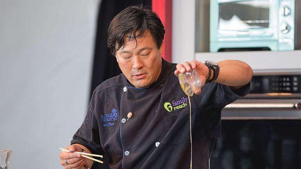 PHOTO: Chef Ming Tsai hosts 'Noodling Around' during the Austin Food and Wine Festival at Auditorium Shores on April 29, 2017 in Austin, Texas. (Rick Kern/WireImage/Getty Images, FILE)