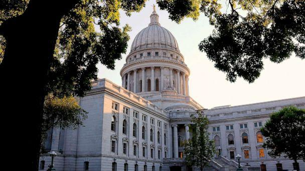 PHOTO: Wisconsin state capitol building in Madison, Wisc., Aug. 8, 2018. (Education Images/Universal Images Group via Getty Images)