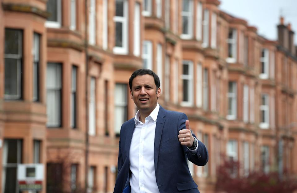 Anas Sarwar has chosen to take on Nicola Sturgeon in the Glasgow Southside constituency (Andrew Milligan/PA)